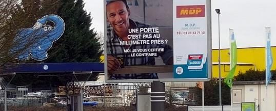 MDP s'affiche en GRAND à Soissons !