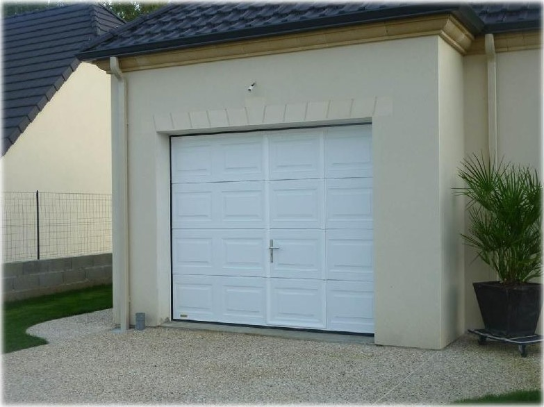 MDP Menuiseries Fermetures : Porte Garage Sectionnelle