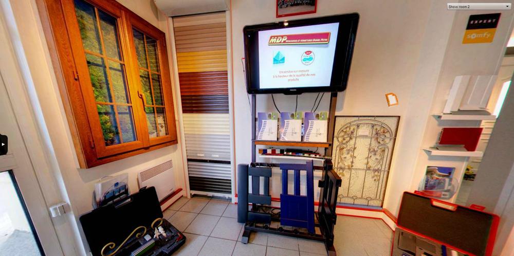 MDP Menuiseries Fermetures : le Showroom