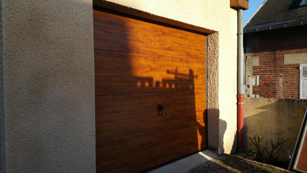 MDP Menuiseries Fermetures : Porte de Garage Sectionnelle