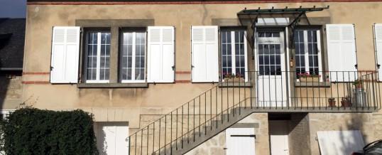Nouvelle réalisation MDP : Fenêtre + Porte en PVC + Volets Battants Alu