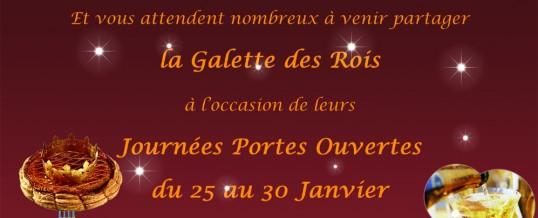 Portes Ouvertes MDP & Galette des Rois du 25 au 30 janvier 2016 !
