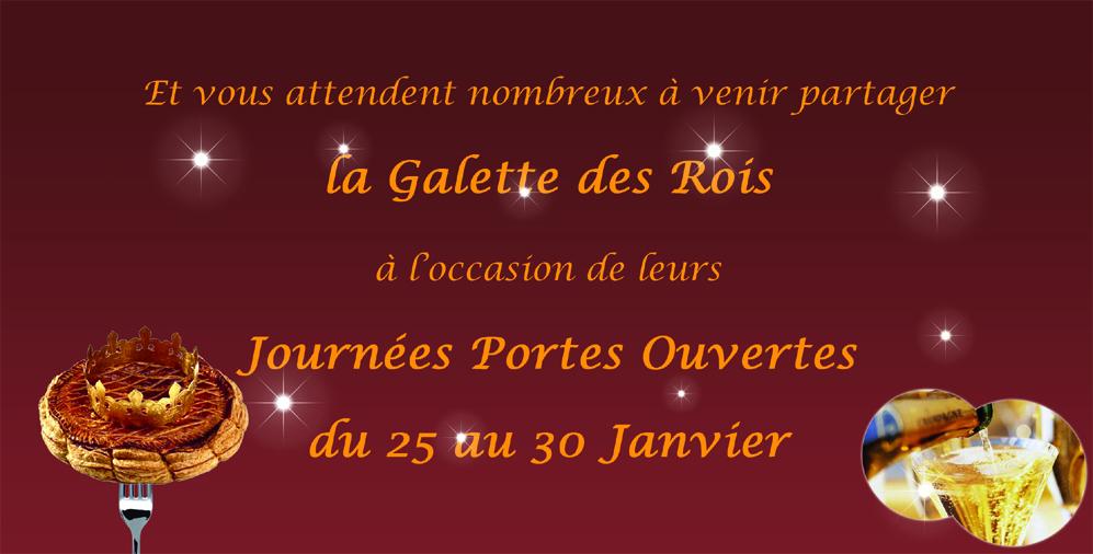 MDP Menuiseries Fermetures : Galette des Rois