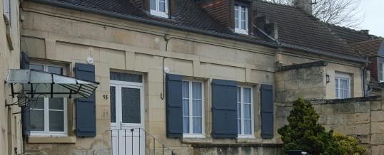 Fenêtres, porte d'entrée en PVC et volets battants alu : réalisation MDP