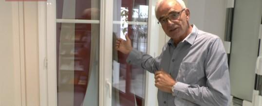 Portes fenêtres Janneau : le Show-Room MDP avec Daniel, vidéo 2