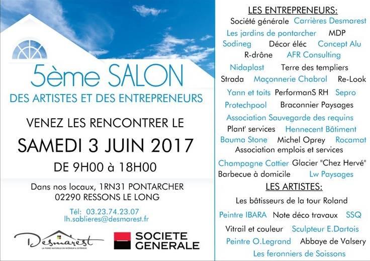 5ème Salon des Artistes & des Entrepreneurs à Pontarcher